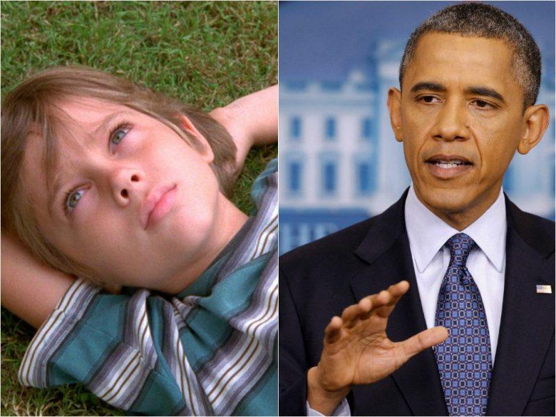 President Obama Boyhood
