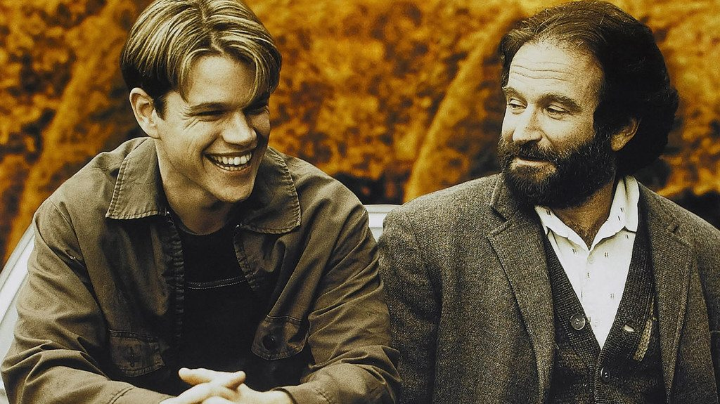 GOOD WILL HUNTING, US poster art, from left: Matt Damon, Robin Williams, 1997
