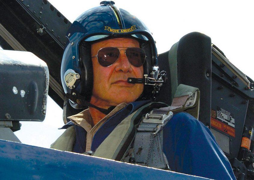 Harrison Ford plane