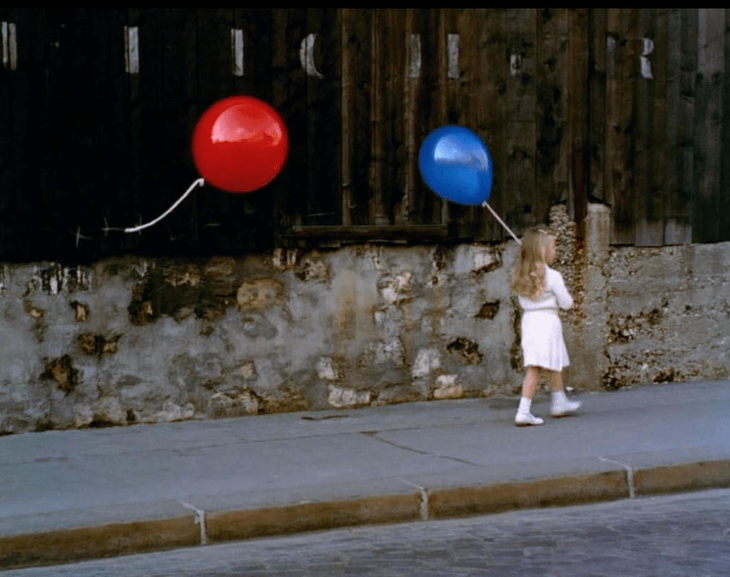 an analysis of the red balloon a movie Watch video directed by albert lamorisse with pascal lamorisse, sabine lamorisse, georges sellier, vladimir popov a red balloon with a life of its own follows a little boy around the streets of paris.