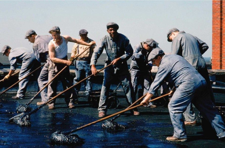 The tarring crew, the Shawshank Rdemption