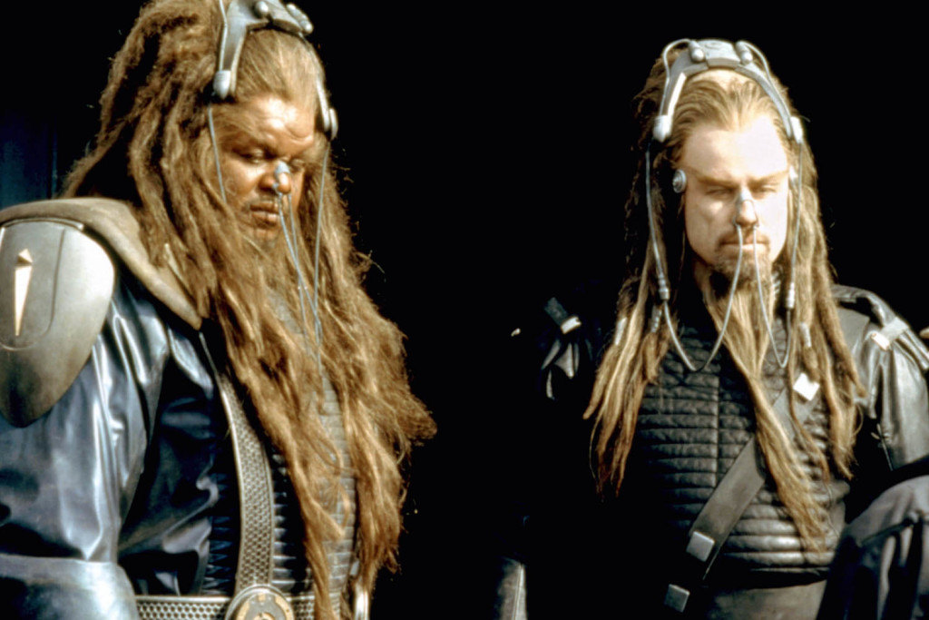 BATTLEFIELD EARTH, Forest Whitaker, John Travolta, 2000. ©Warner Bros./Courtesy Everett Collection