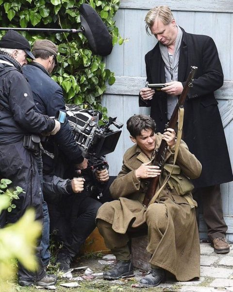... Images From the Sets of Christopher Nolan's Next Film 'Dunkirk