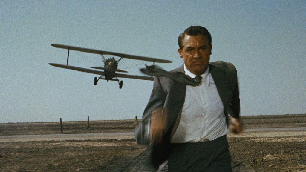 North by northwest thriller