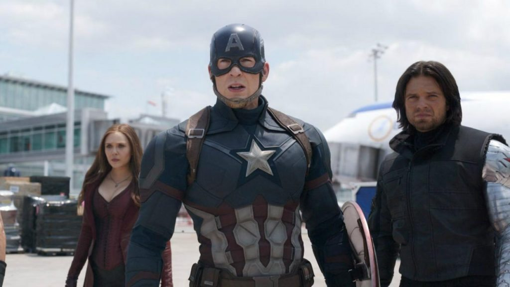 One of the most action packed Marvel movies till date, 'Captain America :  Civil War' is a no-brainer on our list of the sexiest movies streaming on  Netflix.