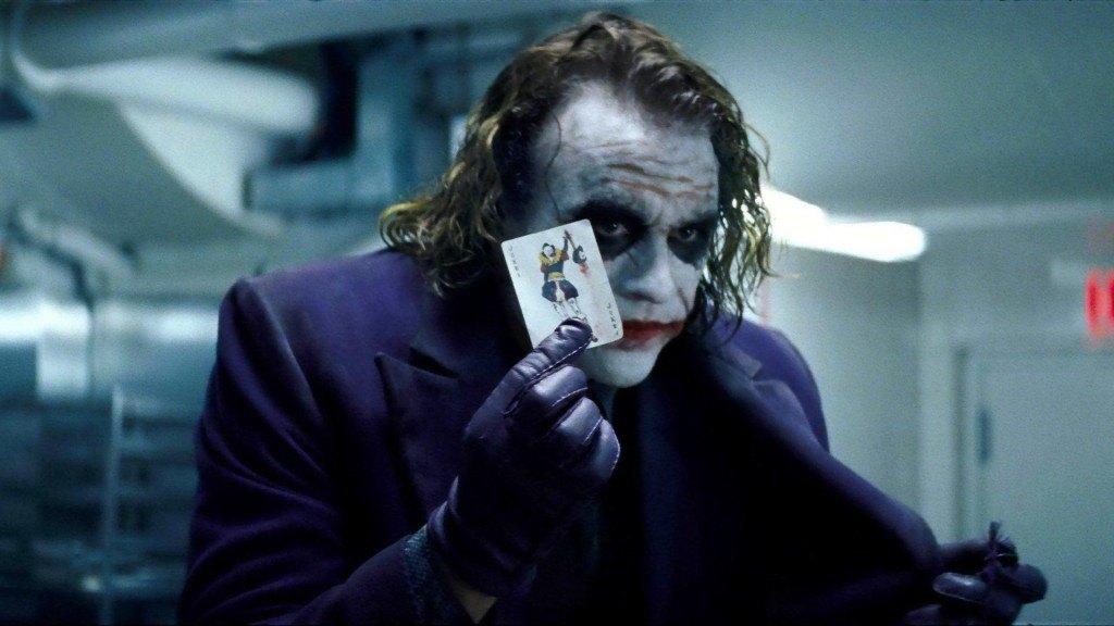 jokers insanity in batman the dark knight movie