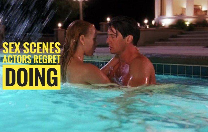 Смотреть секс в воде в бассейне