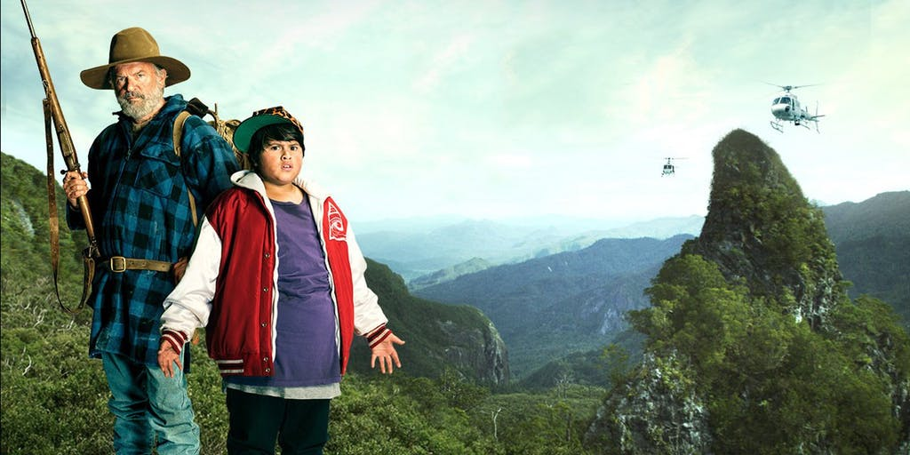 Hunt for the Wilderpeople 2016.'