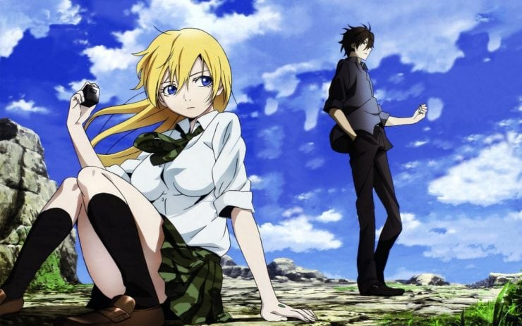 Btooom Is Originally A Manga Series The Illustration And Publication Credit Goes To Junya Inoue Adaptation Of From An Anime
