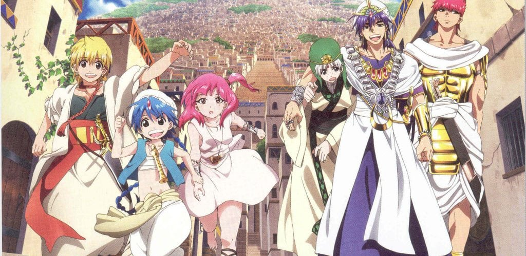 Magi The Labyrinth Of Magic Season 3 Release Date Characters English Dub