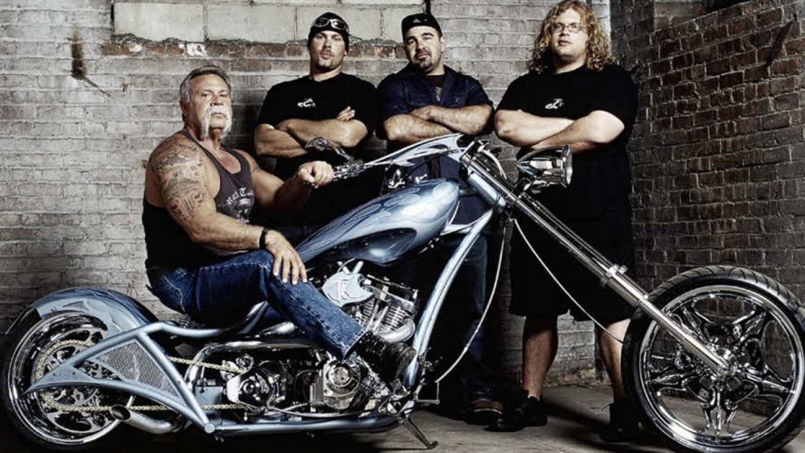 From the Treads of American Chopper: All the Shows Dirt