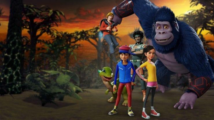 kong king of the apes season 3