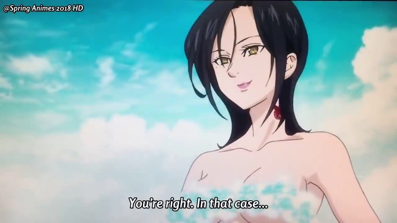 Completely naked japanese anime girls