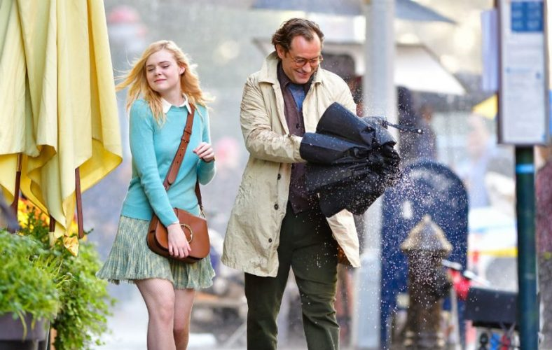 Elle Fanning in A Rainy Day in New York