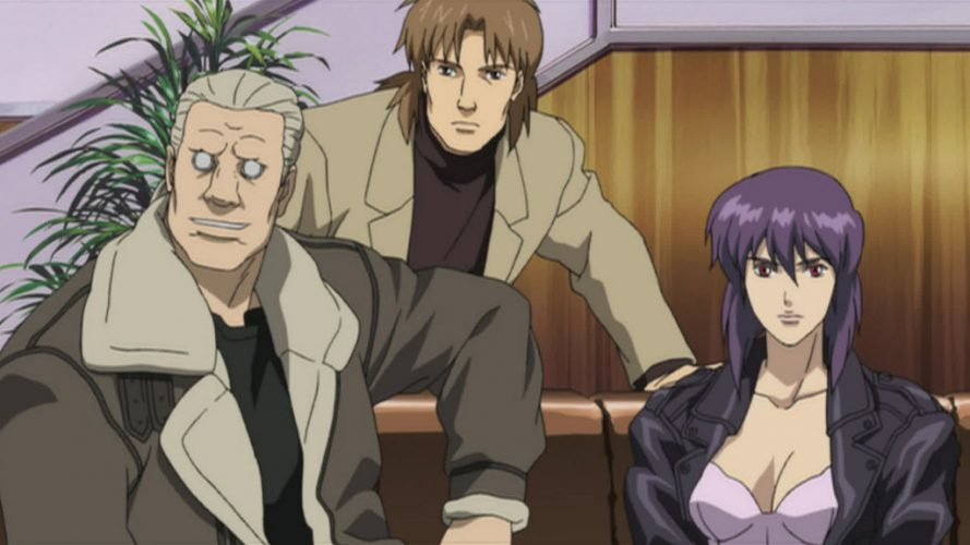Ghost In The Shell Sac 2045 Release Date Characters English Dub