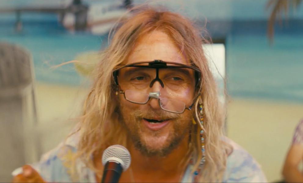 Mathew McConaughey beach bum