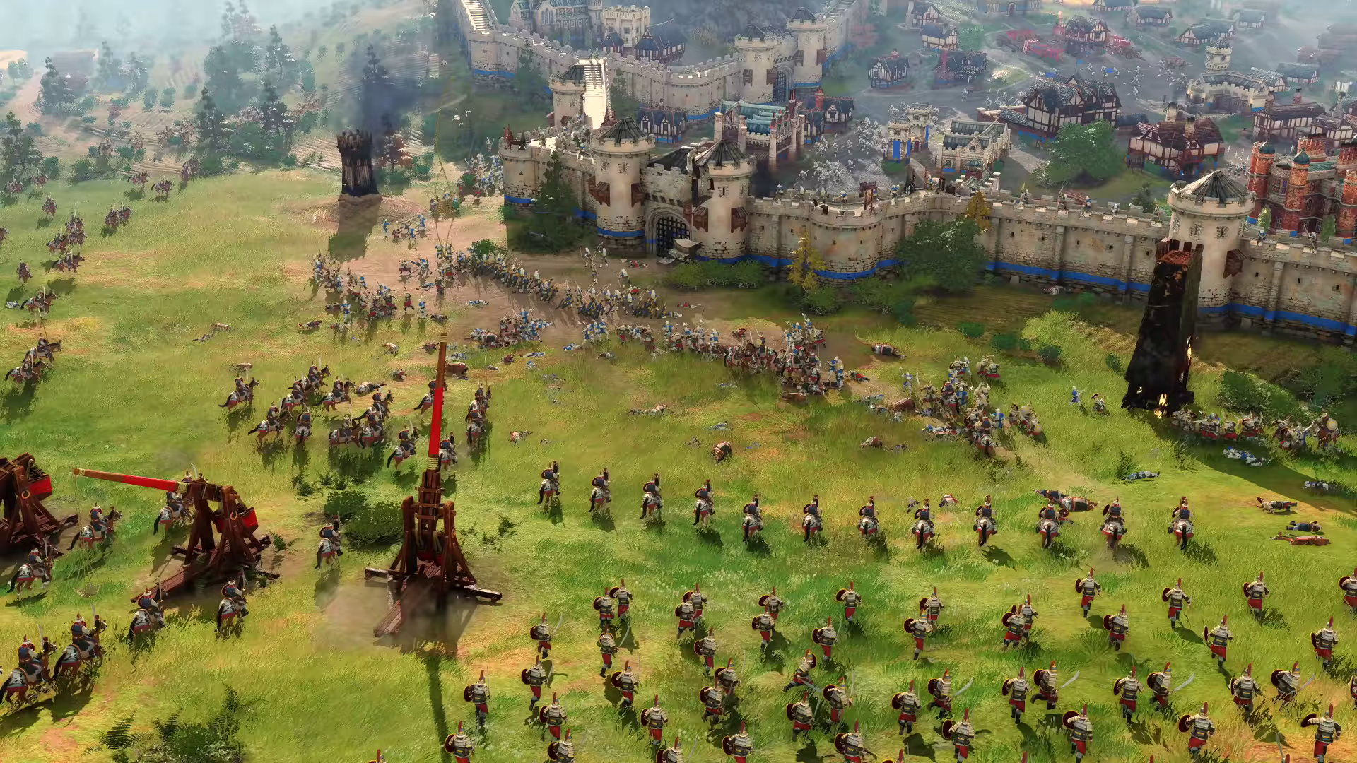 Age Of Empires 4 Release Date Gameplay Pc Xbox Ps4 Trailer News