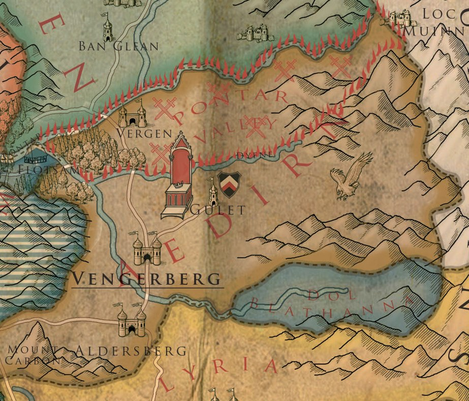 The Witcher Map, Explained | Netflix Series\' The Continent ...